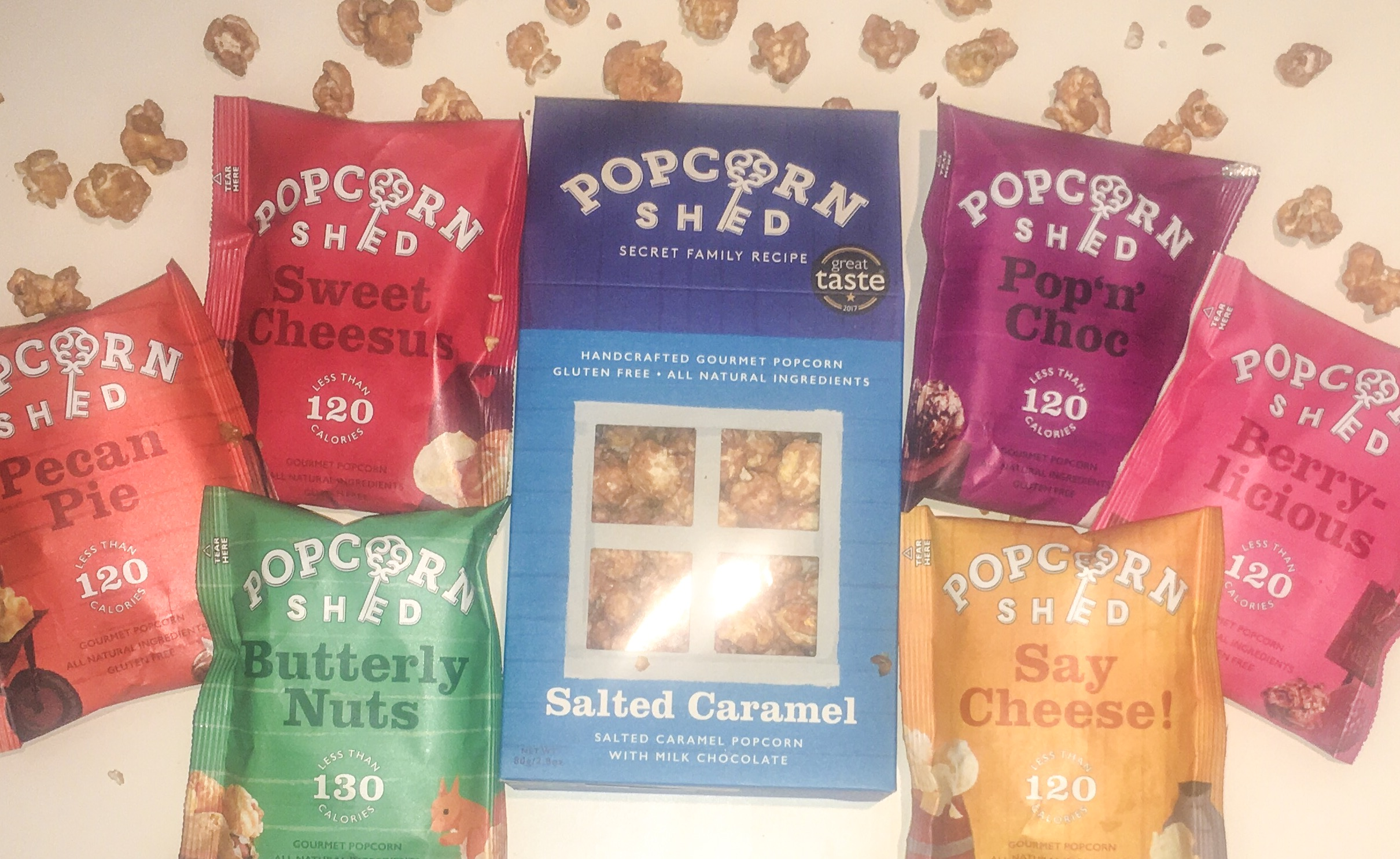 gourmet popcorn treats